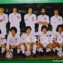 Coleccionismo deportivo: VALENCIA C.F.ALINEACIÓN CAMPEÓN SUPERCOPA EUROPA 1980 (V) EN EL L.CASANOVA CONTRA NOTTINGHAM F. FOTO. Lote 168350644