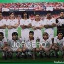 Coleccionismo deportivo: A.C. MILÁN. ALINEACIÓN CAMPEÓN COPA DE EUROPA 1988-1989 EN EL CAMP NOU CONTRA STEAUA B. FOTO. Lote 168352348