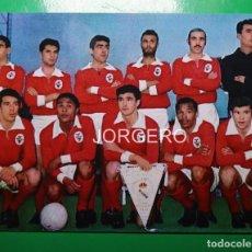 Coleccionismo deportivo: S.L. BENFICA. ALINEACIÓN CAMPEÓN COPA DE EUROPA 1961-1962 EN AMSTERDAM CONTRA R. MADRID. FOTO. Lote 222653957