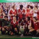 Coleccionismo deportivo: NOTTINGHAM FOREST. ALINEACIÓN CAMPEÓN COPA DE EUROPA 1979-1980 EN EL BERNABÉU CONTRA HAMBURGO. FOTO. Lote 168352704