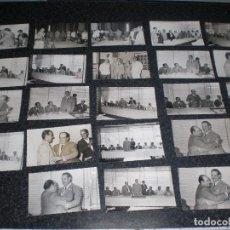 Coleccionismo deportivo: LOTE 23 FOTOGRAFÍAS ORIGINALES BALÓN DE CÁDIZ CF 1965. Lote 168368096