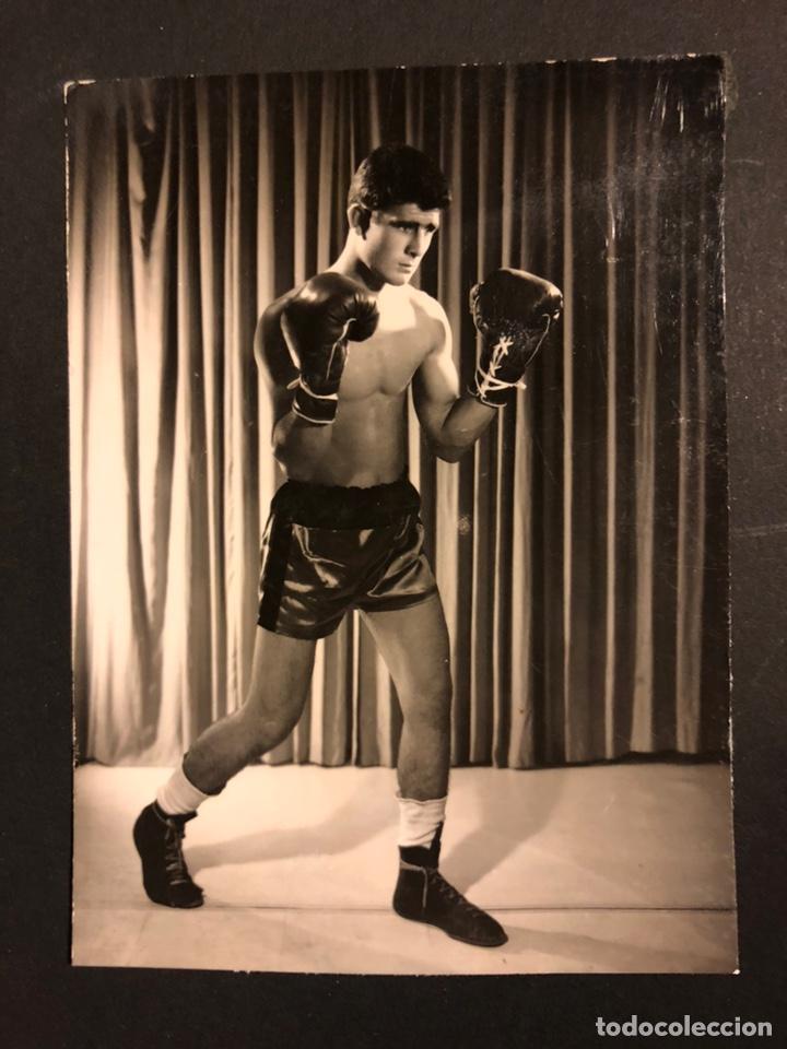 FOTO ORIGINAL DE BOXEADOR 11X8,5 CM (Coleccionismo Deportivo - Documentos - Fotografías de Deportes)