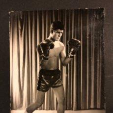 Coleccionismo deportivo: FOTO ORIGINAL DE BOXEADOR 11X8,5 CM. Lote 168397404
