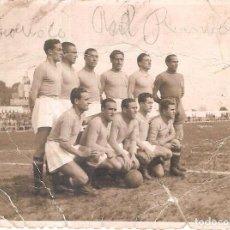 Coleccionismo deportivo: FOTOGRAFÍA ORIGINAL XEREZ CLUB AÑOS 40. Lote 168611396