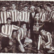 Coleccionismo deportivo: CÁDIZ . EQUIPO DEL ATLETICO DE BILBAO TROFEO CARRANZA. Lote 168962140