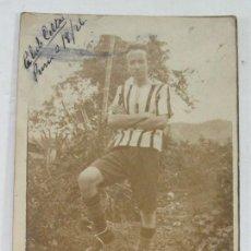 Coleccionismo deportivo: FUTBOL. JUGADOR DEL CLUB CELTA. 1926. Lote 169211264