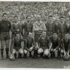 Coleccionismo deportivo: FOTOGRAFIA PLANTILLA DEL FUTBOL CLUB BARCELONA. Lote 171065832