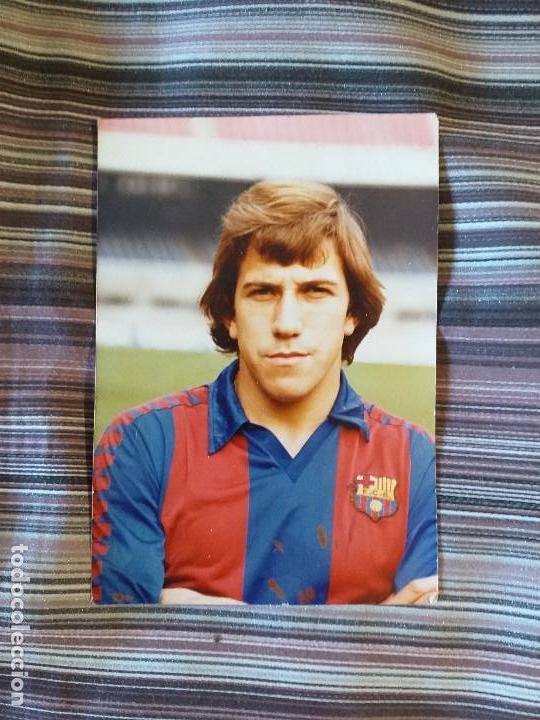 FOTOGRAFÍA FC BARCELONA 70´S VÍCTOR MUÑOZ (Coleccionismo Deportivo - Documentos - Fotografías de Deportes)