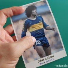 Coleccionismo deportivo: MARADONA - BOCA JUNIORS - FOTOGRAFÍA EN BRILLO DE 10 X 15 (NUEVA). Lote 57582137