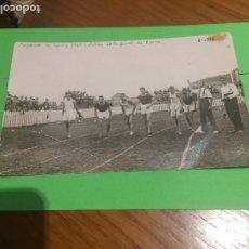 Coleccionismo deportivo: CAMPO DE ROMO - LAS ARENAS - GETXO - BILBAO - FOTOGRAFIA ORIGINAL DE 1923 - CAMPEONATO DE ESPAÑA. Lote 173816423
