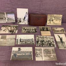 Coleccionismo deportivo: ESPECTACULAR COLECCIÓN DE FOTOGRAFÍAS DEL HERCULES C.F. AÑOS 50 / 60 / 70 + ALBUM. Lote 173919137