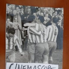 Coleccionismo deportivo: REAL CLUB DEPORTIVO ESPAÑOL FUTBOL VILCHES ARGILES CAMPS FOTO ORIGINAL ANTIGUA SAENZ GUERRERO FOTO. Lote 174087230