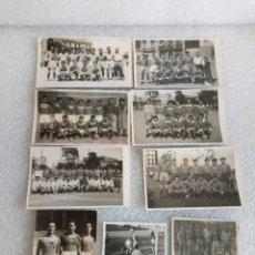 Coleccionismo deportivo: LOTAZO POSTALES? FOTOS ESPAÑOL CASTELLS OTROS CLUBS FUTBOL - COLECCION DE BARCELONA - AÑOS 50. Lote 174221035