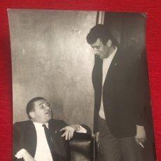 Coleccionismo deportivo: FOTO FOTOGRAFIA PRENSA FUTBOL JUGADORES PUSKAS Y PACHIN REAL MADRID 1966. Lote 175728933