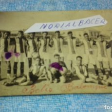 Coleccionismo deportivo: POSTAL FOTO-TURPIN ALBACETE - BETIS BALOMPIE AB -BUEN ESTADO. Lote 175812015