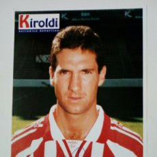 Coleccionismo deportivo: ATHLETIC CLUB 1996-97: URRUTIA - LÁMINA COLECCIONABLE PERIÓDICO DEPORTIVO KIROLDI - BILBAO. Lote 176069179