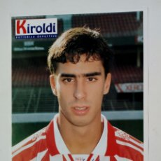 Coleccionismo deportivo: ATHLETIC CLUB 1996-97: BOLO - LÁMINA COLECCIONABLE PERIÓDICO DEPORTIVO KIROLDI - BILBAO. Lote 176069345