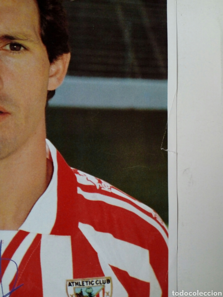 Coleccionismo deportivo: Athletic Club 1996-97: GOIKOETXEA - Lámina coleccionable periódico deportivo KIROLDI - Bilbao - Foto 2 - 176070595