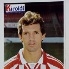 Coleccionismo deportivo: ATHLETIC CLUB 1996-97: GOIKOETXEA - LÁMINA COLECCIONABLE PERIÓDICO DEPORTIVO KIROLDI - BILBAO. Lote 176070595