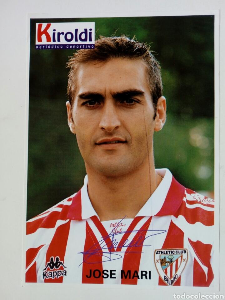 ATHLETIC CLUB 1996-97: JOSE MARI - LÁMINA COLECCIONABLE PERIÓDICO DEPORTIVO KIROLDI - BILBAO (Coleccionismo Deportivo - Documentos - Fotografías de Deportes)