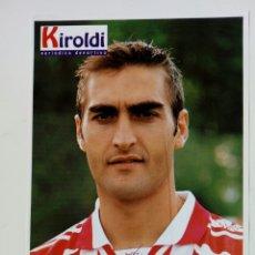 Coleccionismo deportivo: ATHLETIC CLUB 1996-97: JOSE MARI - LÁMINA COLECCIONABLE PERIÓDICO DEPORTIVO KIROLDI - BILBAO. Lote 176070793