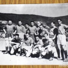Coleccionismo deportivo: REPRODUCCIÓN GRAN TAMAÑO FOTOGRAFÍA DE FUTBOL . Lote 176215523