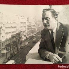 Coleccionismo deportivo: FOTO FOTOGRAFIA DE PRENSA GABRIEL ALONSO ARISTIAGUIRRE (16-3-1966) REAL MADRID MALAGA RAYO. Lote 176457570