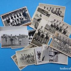 Coleccionismo deportivo: 20 ANTIGUAS FOTOGRAFÍAS DE FUTBOL, BALONCESTO, HOCKEY - AÑOS 1940-1950 - VER FOTOS ADICIONALES. Lote 176672179
