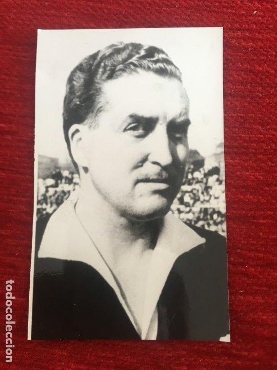 R6811 ORIGINAL FOTO FOTOGRAFIA DE PRENSA ARBITRO FUTBOL JOSE LUIS GOMEZ PLATAS (Coleccionismo Deportivo - Documentos - Fotografías de Deportes)