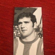 Coleccionismo deportivo: R6821 ORIGINAL FOTO FOTOGRAFIA DE PRENSA SPORTING GIJON JUGADOR VALDES (12-12-1970). Lote 177212348
