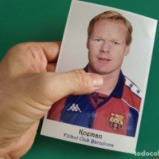 Coleccionismo deportivo: KOEMAN - FC BARCELONA - FOTOGRAFÍA EN BRILLO DE 10 X 15 (NUEVA). Lote 177796983