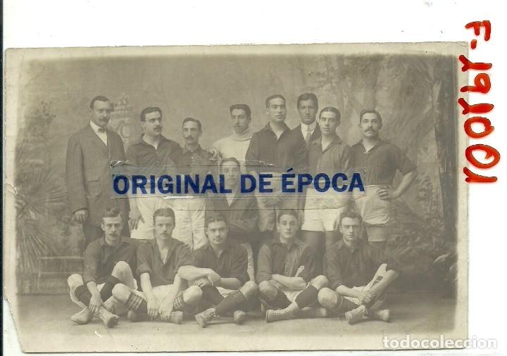 (F-191001) FOTOGRAFIA ORIGINAL DEL F.C.BARCELONA ,1909-10 , JOAN GAMPER , FOOT-BALL (Coleccionismo Deportivo - Documentos - Fotografías de Deportes)