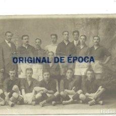 Collezionismo sportivo: (F-191001) FOTOGRAFIA ORIGINAL DEL F.C.BARCELONA ,1909-10 , JOAN GAMPER , FOOT-BALL. Lote 177858280