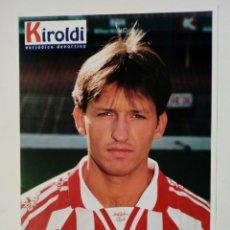 Coleccionismo deportivo: ATHLETIC CLUB 1996-97: TABUENKA - LÁMINA COLECCIONABLE PERIÓDICO DEPORTIVO KIROLDI - BILBAO. Lote 178060977