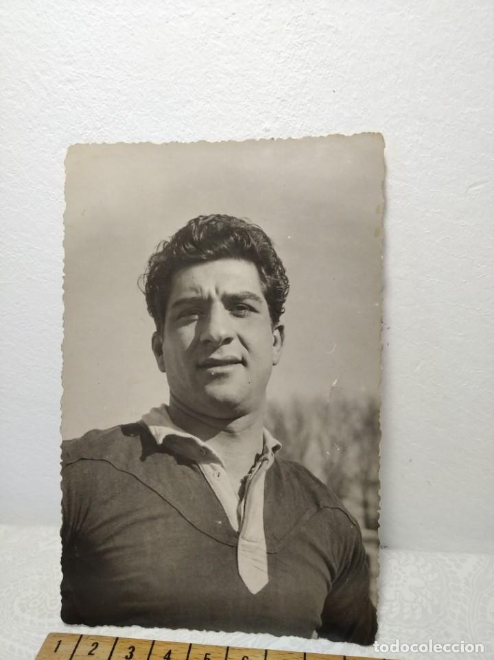 PORTERO FÚTBOL AÑOS 40 - REF: 390/400 (Coleccionismo Deportivo - Documentos - Fotografías de Deportes)