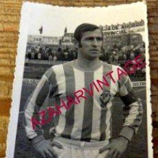 Coleccionismo deportivo: ANTIGUA FOTOGRAFIA JUGADOR DEL REAL VALLADOLID, 70X104MM. Lote 178596675