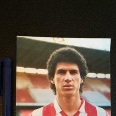 Coleccionismo deportivo: FOTOGRAFÍA BALTAZAR ATLETICO DE MADRID 18*12 FOTO DETRÁS CON FRASES DE LA BIBLIA. Lote 178723377