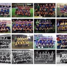 Coleccionismo deportivo: LOTE 16 FOTOS FUTBOL F.C.BARCELONA BARÇA CRUYFF MARADONA SCHUSTER ETC. Lote 178852412