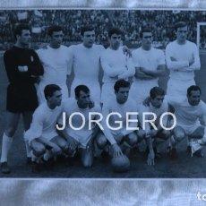 Coleccionismo deportivo: R. MADRID. ALINEACIÓN CAMPEÓN COPA DE EUROPA 1965-1966 EN HEYSEL CONTRA EL PARTIZÁN. FOTO. Lote 179083736