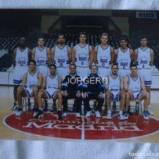 Coleccionismo deportivo: R. MADRID BALONCESTO 1997-1998. FOTO. Lote 179086751