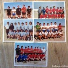 Coleccionismo deportivo: LOTE FOTOGRAFIAS FUTBOL AÑOS 70 FOOTBALL SPAIN PHOTOGRAPHY. Lote 179091776