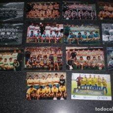 Coleccionismo deportivo: LOTE 14 FOTOGRAFÍAS EQUIPOS FÚTBOL (VER RELACIÓN). Lote 179315706