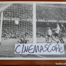 Coleccionismo deportivo: FUTBOL CLUB BARCELONA JOHAN CRUYFF 1973 FOTO ORIGINAL ANTIGUA. Lote 180870670