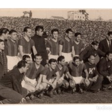 Coleccionismo deportivo: FOTOGRAFÍA SAN LORENZO DE ALMAGRO 1946. CAMPEÓN DE LIGA ARGENTINA. 17,5X 11,5. Lote 181590678