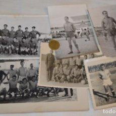 Coleccionismo deportivo: COLECCIÓN DE 6 FOTOGRAFÍAS VARIADAS, DE EQUIPOS / JUGADORES FUTBOL - AÑOS 50/60 ¡MIRA!. Lote 182360013