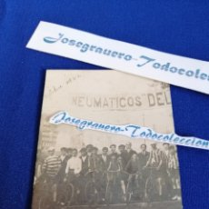 Coleccionismo deportivo: FOTOGRAFIA CICLISTA AÑO 1922- VUELTA CICLISTA-. Lote 182369538