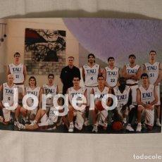 Collectionnisme sportif: TAU CERÁMICA BALONCESTO 2004-2005. FINALISTA LIGA ACB. Lote 182725161