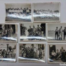 Coleccionismo deportivo: FUTBOL SEVILLANO C.D HISPANO AVIACION 1944, FOTOS CON HISTORIA. Lote 183286717