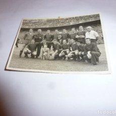 Coleccionismo deportivo: (LLL)FOTO ORIGINAL RAMON DIMAS(8,5 X 12) FINAL COPA 1951 BARÇA 3 R.SOCIEDAD 0 !!!CAMPEONES COPA !!!. Lote 183447611