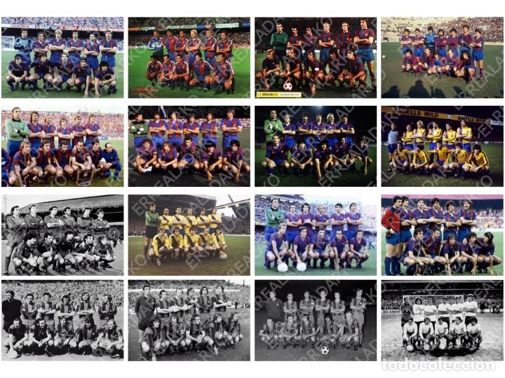LOTE 16 FOTOS FUTBOL F.C.BARCELONA BARÇA CRUYFF MARADONA SCHUSTER ETC (Coleccionismo Deportivo - Documentos - Fotografías de Deportes)